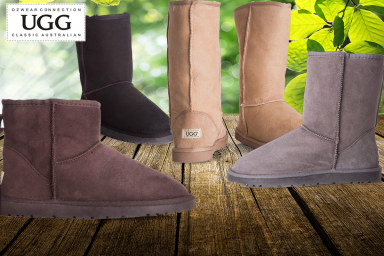 e90eafb1563 OZWEAR Australian Leather Ugg Boots | Catch.com.au