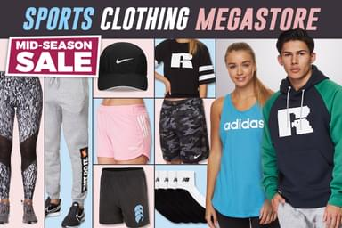 buy online 1b85a 3a24d Sports Clothing Megastore   Scoopon Shopping
