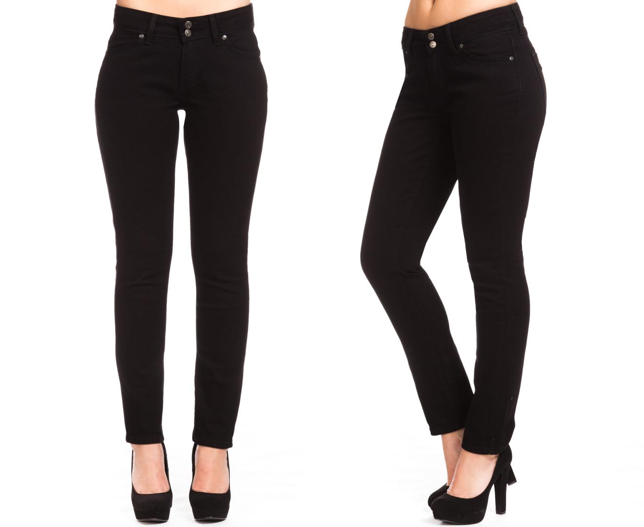 - Catch.com.au Levis Women's 529 Curvy Skinny Jeans - Black Ink