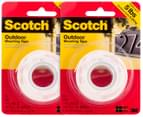 2 x 3M Scotch Outdoor Mounting Tape 3