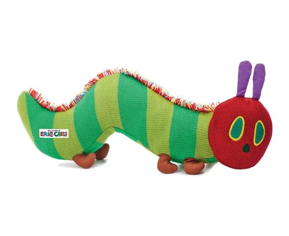 Knitting Pattern For Very Hungry Caterpillar Toy : CatchOfTheDay.com.au The Very Hungry Caterpillar Small Knit Beanie Toy