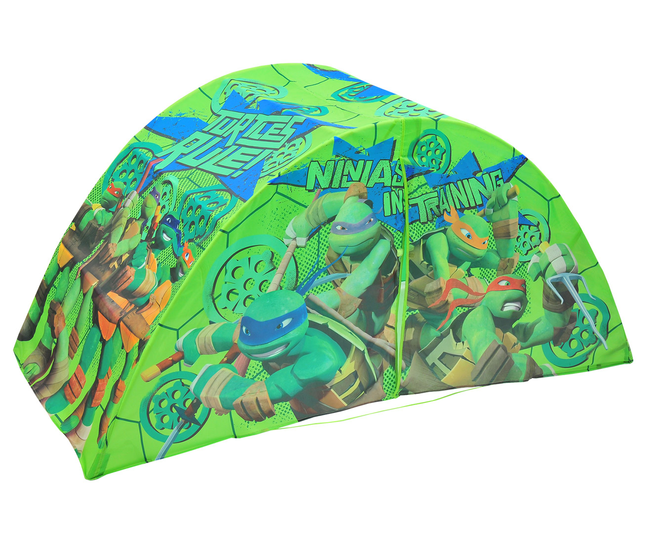 Teenage Mutant Ninja Turtles Bed Tent - Green | Great daily deals at Australiau0027s favourite superstore | Catch.com.au  sc 1 st  Catch : ninja turtle tent - memphite.com