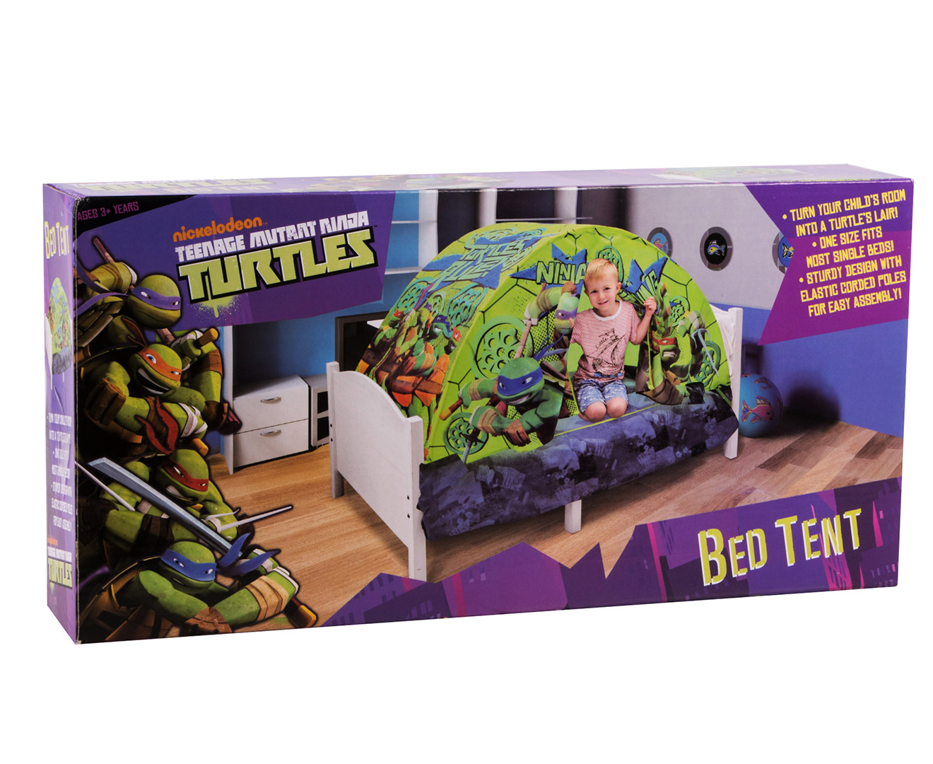 Teenage Mutant Ninja Turtles Bed Tent - Green | Great daily deals at Australiau0027s favourite superstore | Catch.com.au  sc 1 st  Catch & Teenage Mutant Ninja Turtles Bed Tent - Green | Great daily deals ...