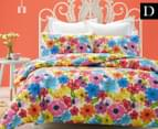 Belmondo Harlow Double Quilt Cover Set - Multi 1