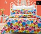 Belmondo Harlow King Quilt Cover Set - Multi 1