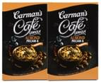 2 x Carman's Almond, Pecan & Maple Café Granola 500g 1