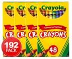 4 x    Crayola Crayons Box 48-Pack 1