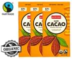 3 x Alter Eco Dark Cacao Organic Chocolate 80g 1
