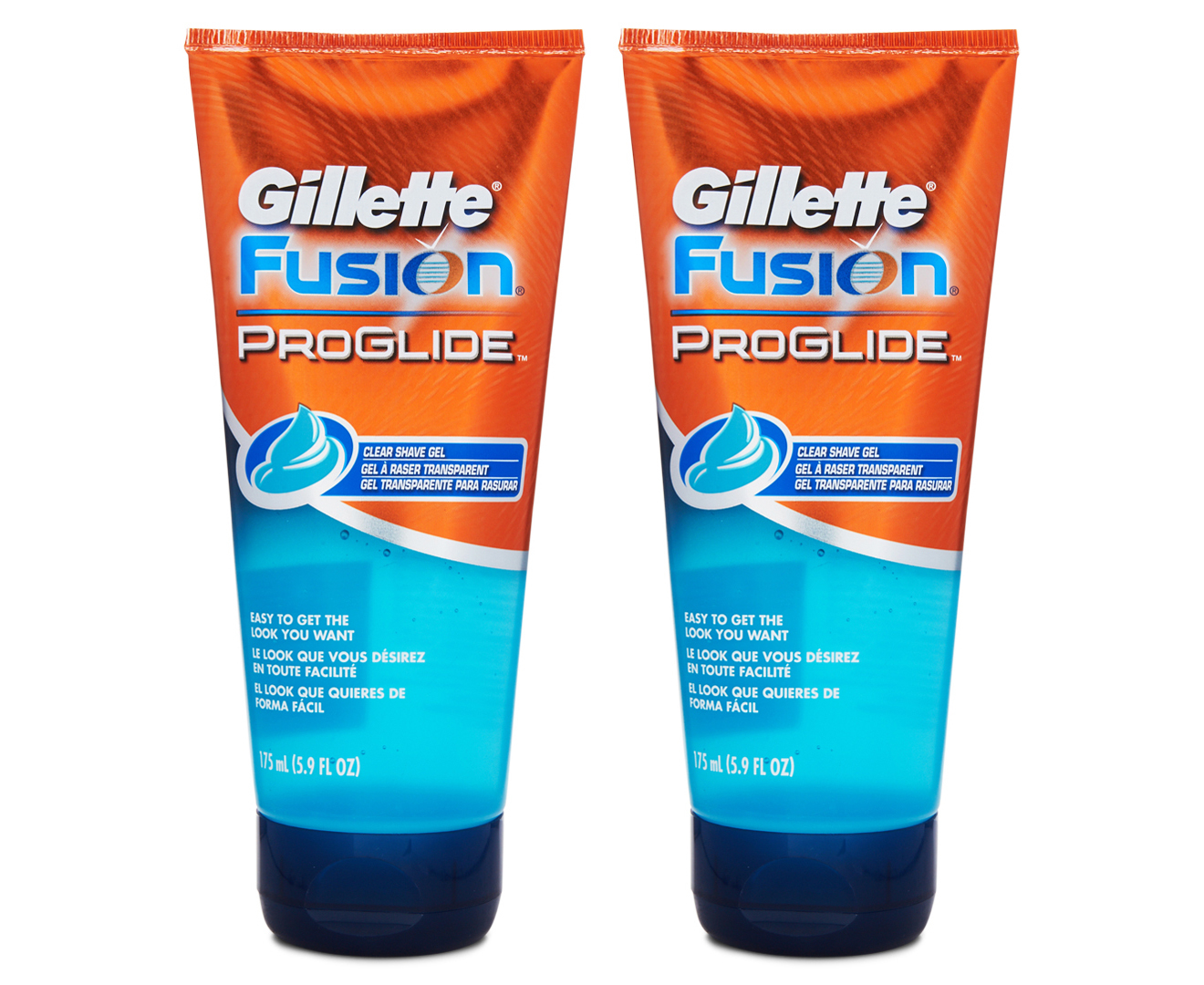 photo Gillette Fusion Proglide Clear Shave Gel