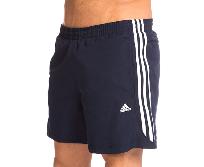 Adidas Men s Essentials 3-Stripe Chelsea Shorts - Navy White   Catch.com.au 5f94fcc874