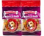 2x SnackBone Chicken Dog Treats 500g 1