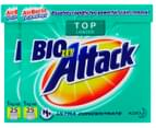 2 x Biozet Attack Top Loader Laundry Powder 1kg 1