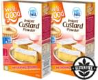 2 x Well & Good Instant CustardPowder 250g 1