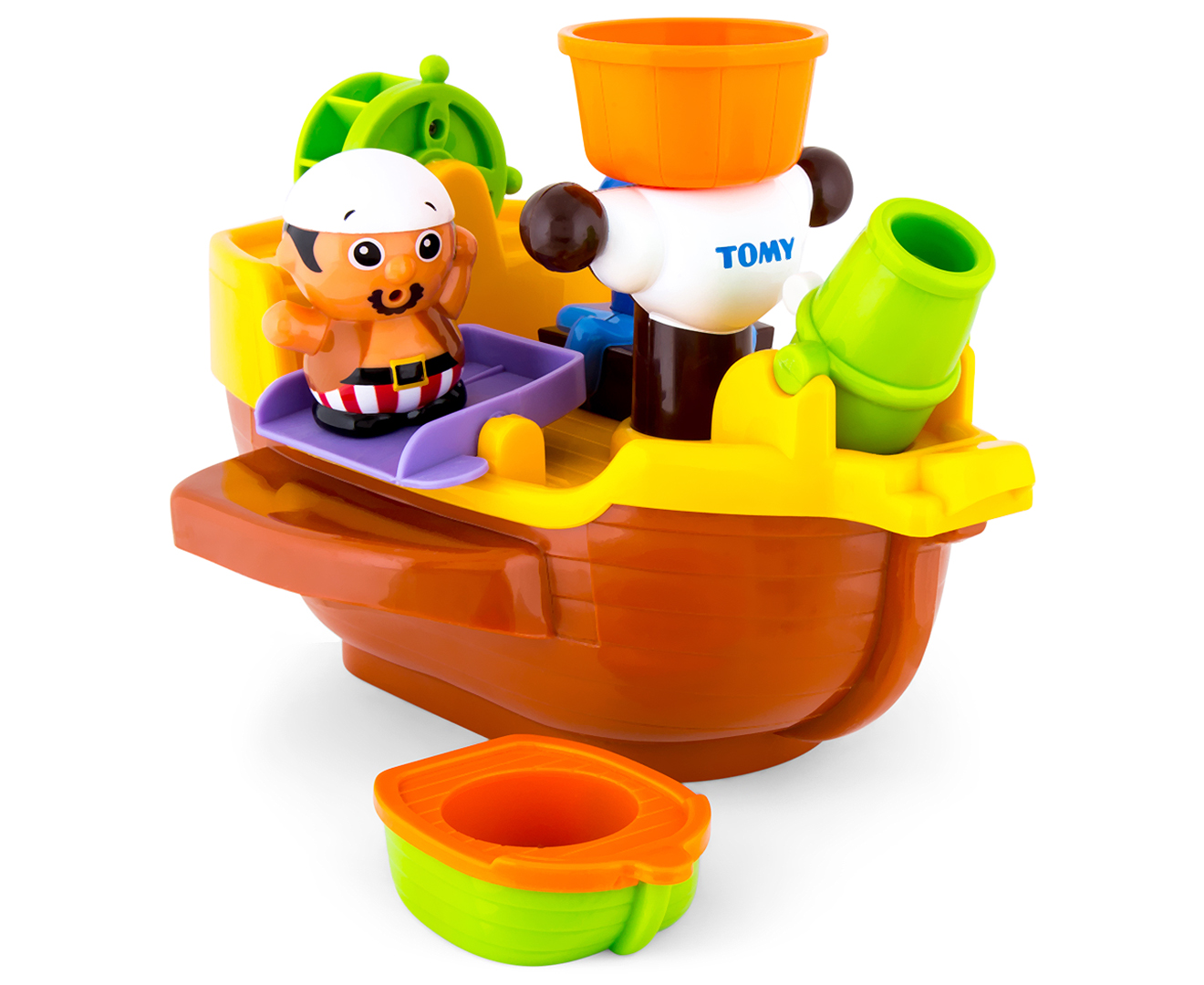 TOMY Pirate Bath Ship 5011666716025 | eBay