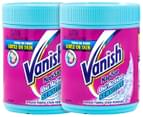 2 x Vanish NapiSan Oxi Action Sensitive Fabric Stain Remover 500g 1