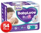 BabyLove Newborn Cosifit Nappies 0-5kg 54 Pack 1