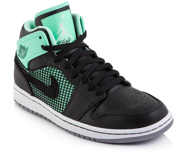 fac42553a1e21c Nike Men s Air Jordan 1 Retro  89 - Green Glow