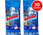 2 x Windowlene Wipes 15pk 1