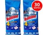 2 x Windowlene Wipes 15pk 1
