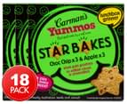 3 x Carman's Yummo's Choc Chip & Apple Star Bakes 6pk 150g 1