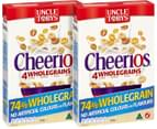 2 x Uncle Tobys Cheerios 320g 2