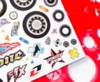 Stencil Art Portfolio - Motorcycle Madness 4