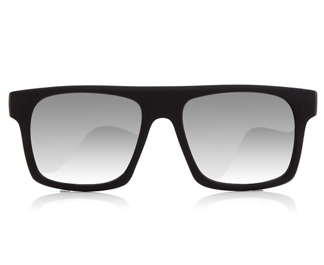 b3dff20f030 Zoo York Wayfarer Style Sunglasses - Matte Black