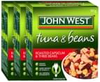 3 x John West Tuna Roasted Capsicum & Three Beans 185g 1
