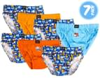 Rio Boys' Size 2-3 Briefs 7-Pack - Tunnels 1