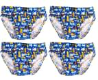 Rio Boys' Size 2-3 Briefs 7-Pack - Tunnels 2