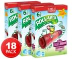 3 x Uncle Tobys Rainbow Roll-Ups Berry Berry 6pk 1