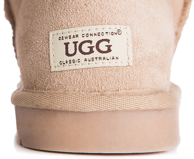 3c5cbec8177 OZWEAR Connection Classic 3/4 Ugg Boot - Sand