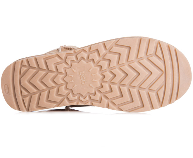 7ac7090ccc0 OZWEAR Connection Classic 3/4 Ugg Boot - Sand