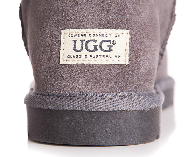 b78f6694d33 OZWEAR Connection Classic Mini Ugg Boot - Charcoal