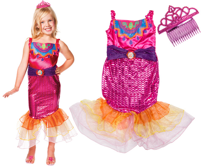 Barbie In A Mermaid Tale - Dress Up
