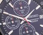 Seiko Men's Stainless Steel Chronograph Watch - Blue  3