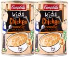 2x Campbell's Kids Chicken Noodle Can 290g 4
