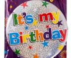 Fun House It's My Birthday Jumbo Badge 2