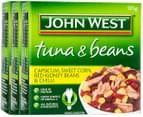 3 x John West Tuna & Beans Capsicum, Corn & Chilli 185g 1