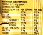 12 x Winners Gym Protein Bars Choc Nut Caramel 50g 3