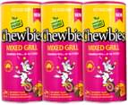 3 x Chewbies Mixed Grill For Dogs 75g 3
