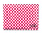 VonZipper Checked Wallet - Red 1