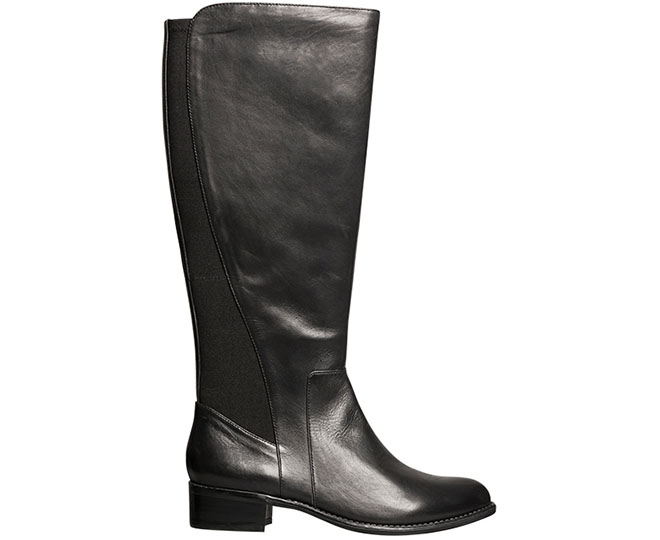 a44cdcb8a7a Hush Puppies Women s Yarra Boot - Black Leather