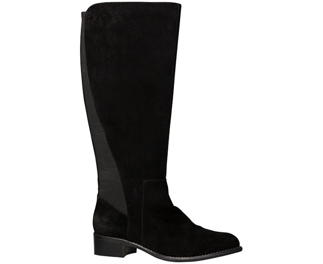 56d564420a0 Hush Puppies Women s Yarra Boot - Black Suede