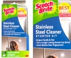 3M Scotch-Brite Stainless Steel Cleaner Starter Kit 1