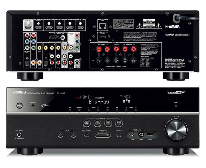 Yamaha htr 4066 5 1 channel network av receiver great for Yamaha tv receiver