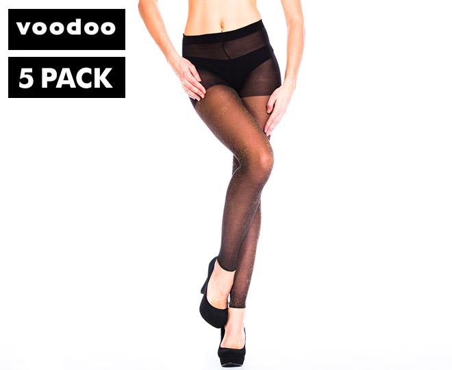 5 X Voodoo Colour Lab Glitterati Plus Size Leggings