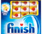 Finish Quantum Powerball Dishwashing Tabs Lemon 45pk 2