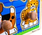 Melissa & Doug Jumbo Knob Puzzle - House Pets 3