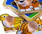 Melissa & Doug Jumbo Knob Puzzle - House Pets 4